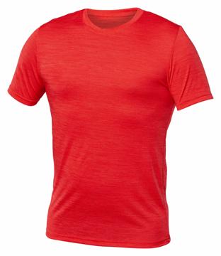 Image de M845 T-shirt pour homme, tissu chiné, dry fit