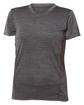 Image sur L845 T-shirt pour femme, tissu chiné, dry fit